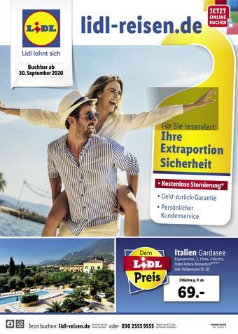Lidl Reisen Prospekt (bis einschl. 31-10)
