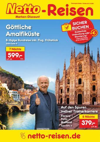 Netto Reisen Prospekt (bis einschl. 31-10)