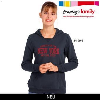 Ernstings family Prospekt (bis einschl. 30-11)