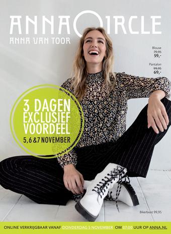 Anna van Toor reclame folder (geldig t/m 31-12)
