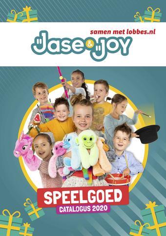Jase & Joy reclame folder (geldig t/m 31-12)