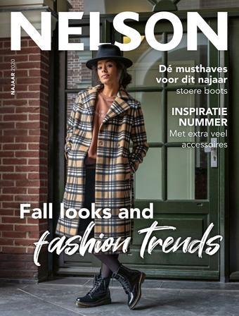 Nelson Schoenen reclame folder (geldig t/m 31-10)