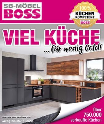 Möbel Boss Prospekt (bis einschl. 30-11)