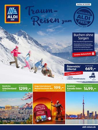 Aldi Süd Reisen Prospekt (bis einschl. 31-10)
