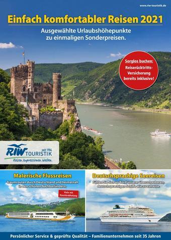 RIW Touristik Prospekt (bis einschl. 31-12)