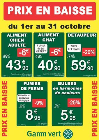 Gamm Vert Catalogue Toutes Les Promotions Dans Les Nouveaux Gamm Vert Catalogues