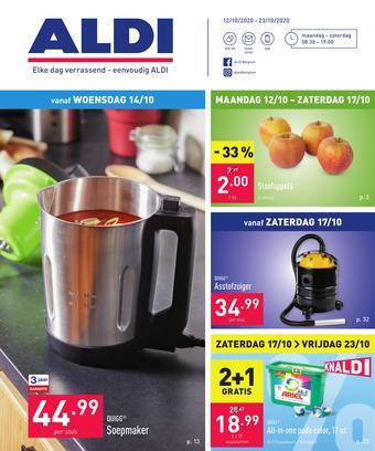ALDI reclame folder (geldig t/m 23-10)