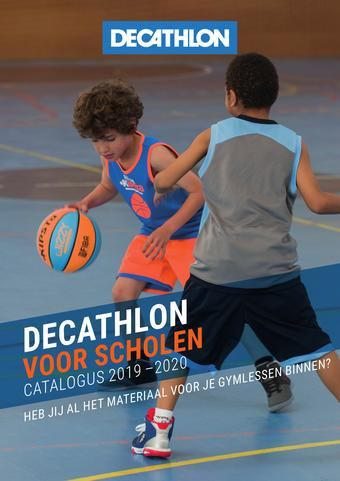 Decathlon reclame folder (geldig t/m 31-10)