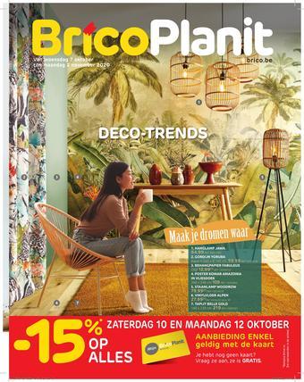 BricoPlanit reclame folder (geldig t/m 02-11)