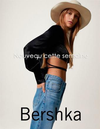 Bershka reclame folder (geldig t/m 16-11)