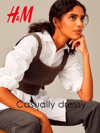 H&M reclame folder (geldig t/m 30-11)
