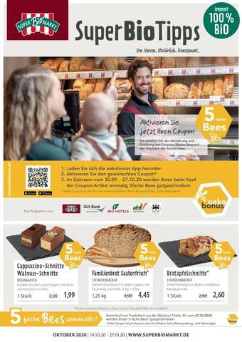 Superbiomarkt Prospekt (bis einschl. 27-10)