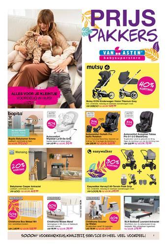 Van Asten BabySuperstore reclame folder (geldig t/m 07-11)