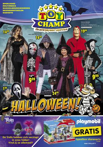 ToyChamp reclame folder (geldig t/m 01-11)