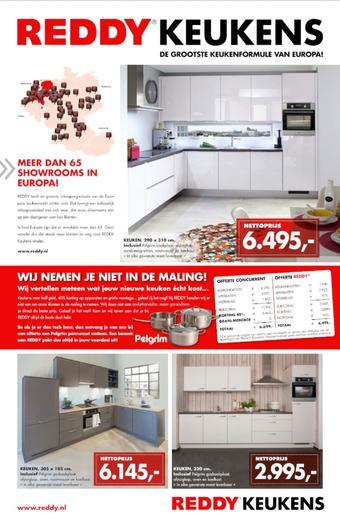 REDDY Keukens reclame folder (geldig t/m 31-10)