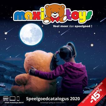 Maxi Toys reclame folder (geldig t/m 29-11)