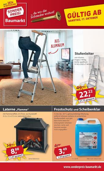 Sonderpreis Baumarkt Prospekt (bis einschl. 23-10)