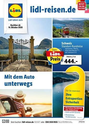 Lidl Reisen Prospekt (bis einschl. 15-11)