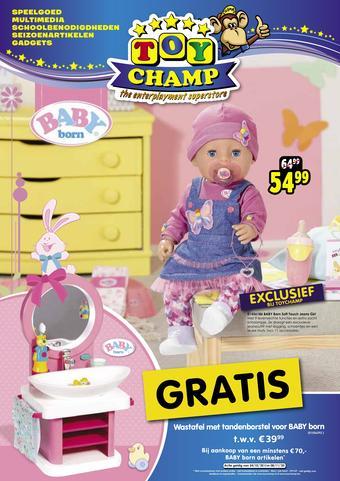 ToyChamp reclame folder (geldig t/m 08-11)