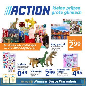 Action reclame folder (geldig t/m 11-11)