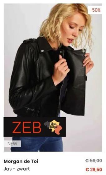 ZEB reclame folder (geldig t/m 27-10)