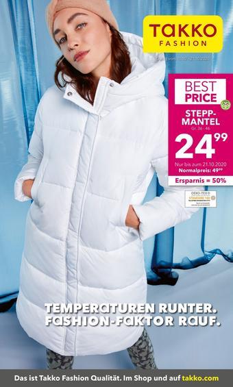 Takko Fashion Prospekt (bis einschl. 21-10)