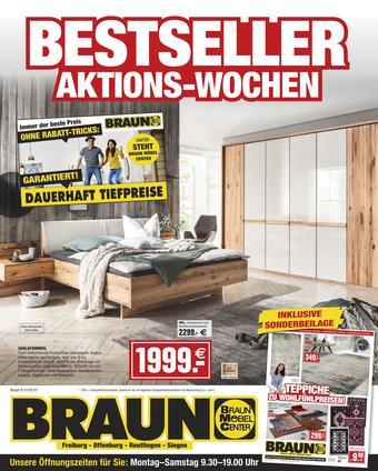 Möbel Braun Prospekt (bis einschl. 22-10)
