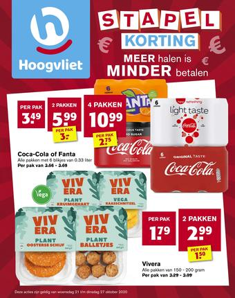 Hoogvliet reclame folder (geldig t/m 27-10)