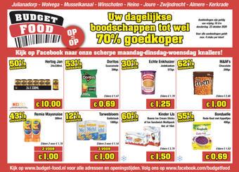 Budget Food reclame folder (geldig t/m 22-10)