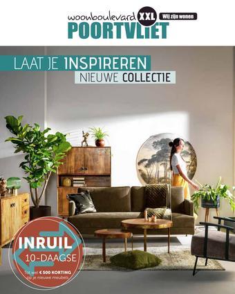 Woonboulevard Poortvliet reclame folder (geldig t/m 31-10)
