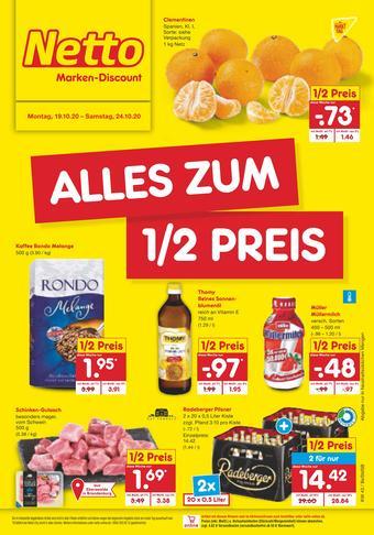 Netto Marken-Discount Prospekt (bis einschl. 24-10)