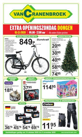 Van Cranenbroek reclame folder (geldig t/m 08-11)