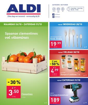 ALDI reclame folder (geldig t/m 06-11)