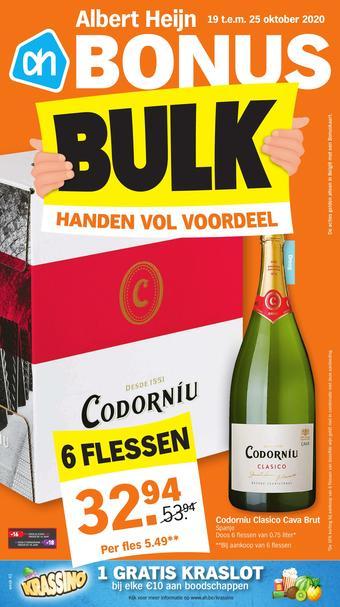 Albert Heijn reclame folder (geldig t/m 25-10)