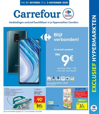 Hyper Carrefour reclame folder (geldig t/m 02-11)