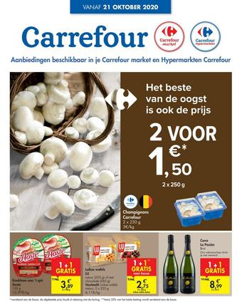 Hyper Carrefour reclame folder (geldig t/m 26-10)