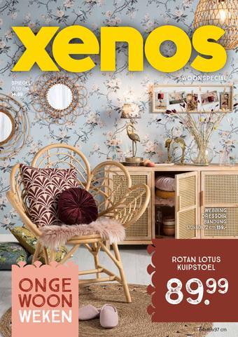 Xenos reclame folder (geldig t/m 01-11)