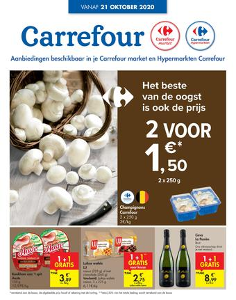Carrefour reclame folder (geldig t/m 26-10)