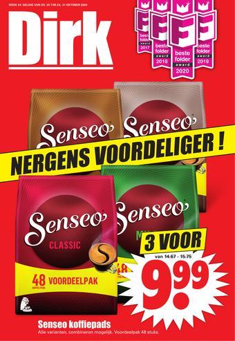 Dirk reclame folder (geldig t/m 31-10)