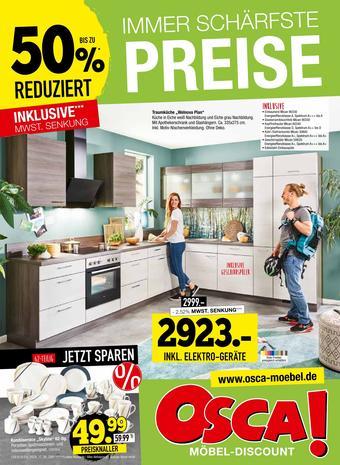 Osca Möbel Prospekt (bis einschl. 03-11)