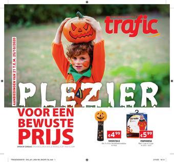 Trafic reclame folder (geldig t/m 27-10)