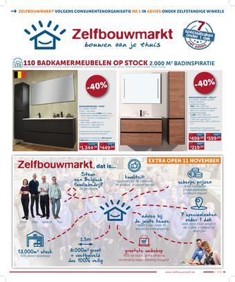 Zelfbouwmarkt reclame folder (geldig t/m 16-11)