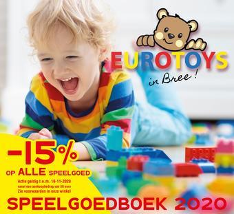 Eurotoys reclame folder (geldig t/m 16-11)