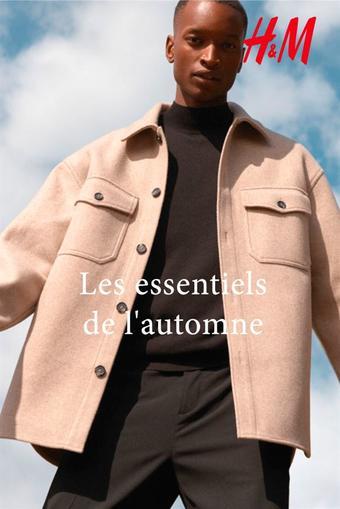 H&M reclame folder (geldig t/m 14-12)