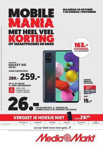 MediaMarkt reclame folder (geldig t/m 02-11)