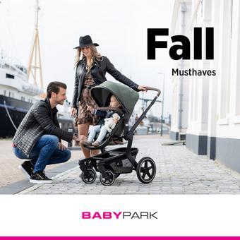 Babypark reclame folder (geldig t/m 16-11)