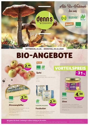 denn's Biomarkt Prospekt (bis einschl. 03-11)