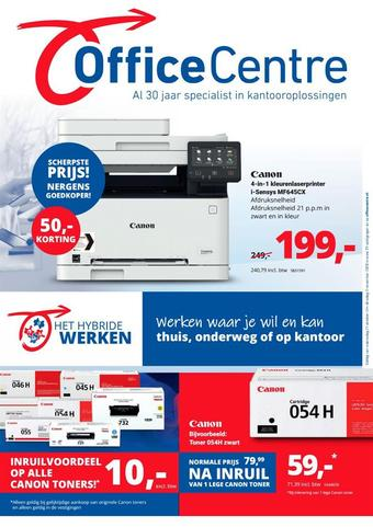 Office Centre reclame folder (geldig t/m 03-11)