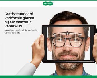 Specsavers reclame folder (geldig t/m 11-11)