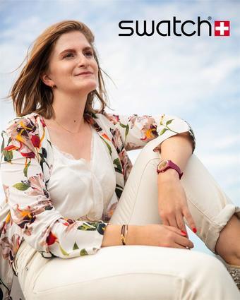 Swatch reclame folder (geldig t/m 21-12)